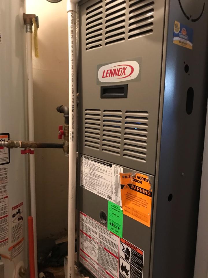 Midvale, UT - Repair broken Lennox furnace
