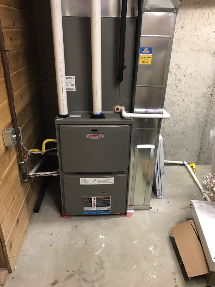 Cottonwood Heights, UT - Tune up a Lennox boiler, Lennox furnace and a Trane furnace.