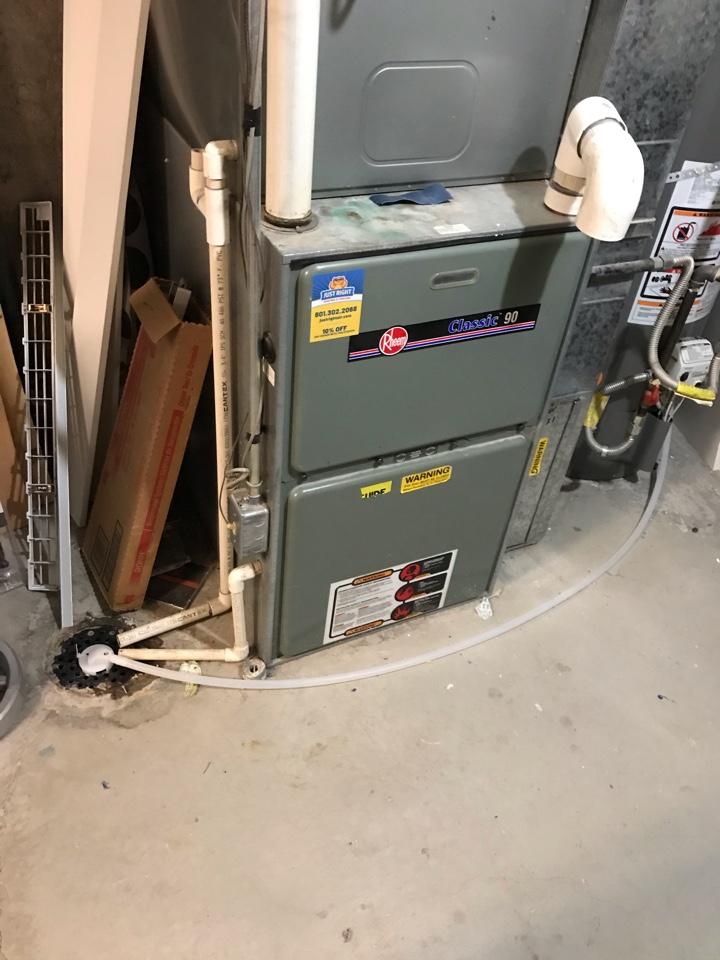 Magna, UT - Repair broken Rheem furnace.