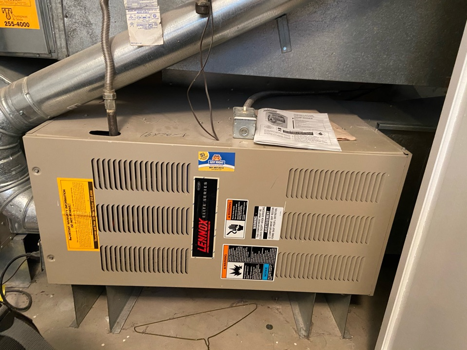 Cottonwood Heights, UT - Repair broken Lennox furnace with Nest thermostat