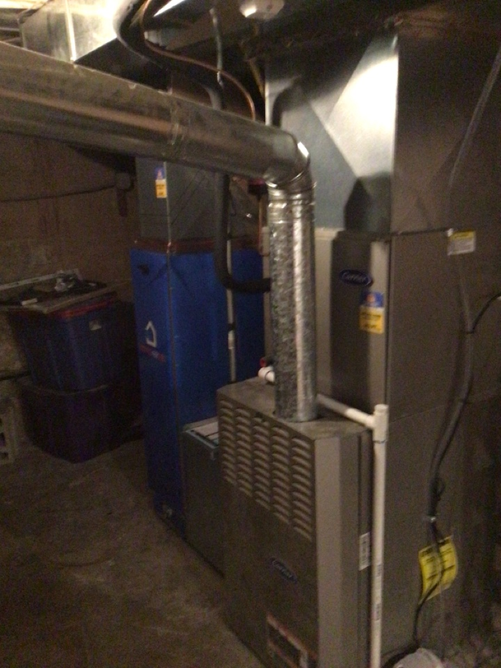 Kaysville, UT - Install new ac and no us air 1200 filter