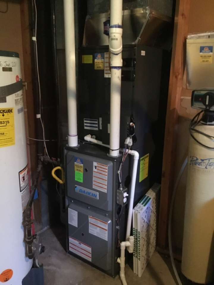 Roy, UT - Installed new daikan furnace and heat pump