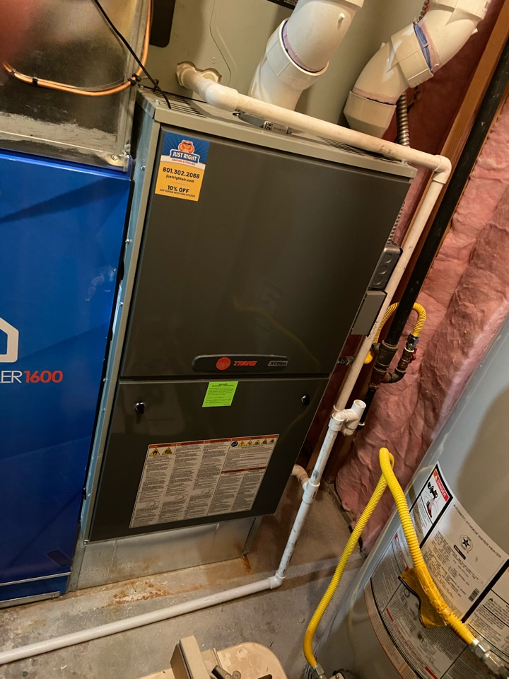 Draper, UT - Tune up two Trane furnaces with Nexia thermostats