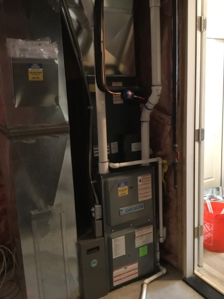 Cottonwood Heights, UT - Installed new daikan furnace and heat pump