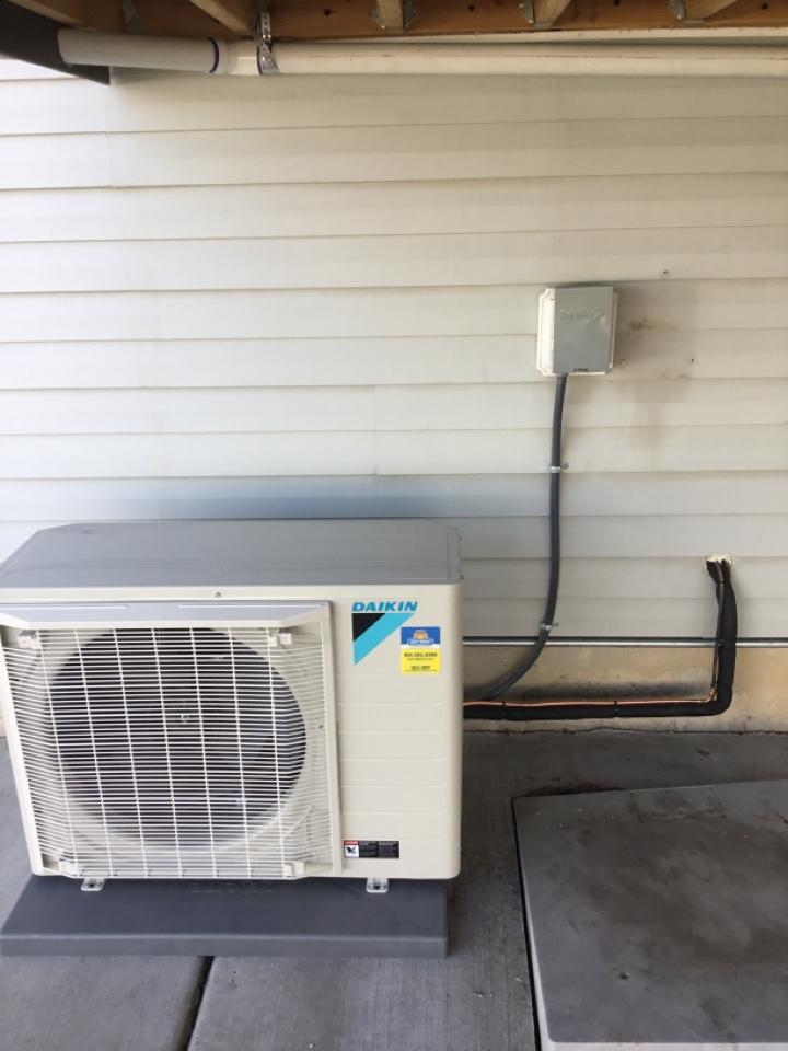 Harrisville, UT - Installed new ac
