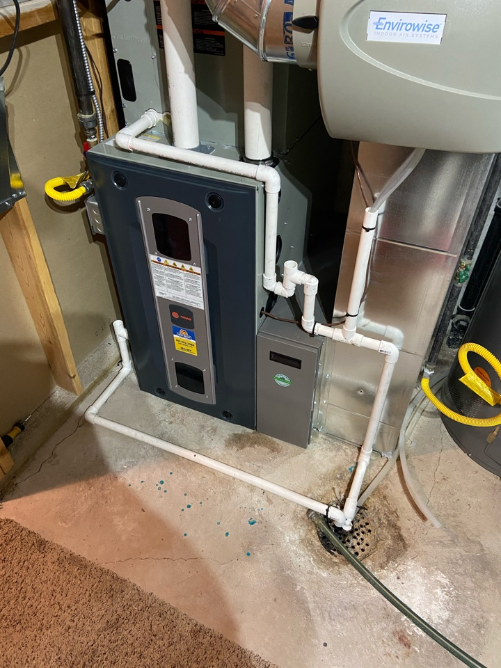 West Jordan, UT - Replace shorted wiring harness on a Trane furnace with Ecobee thermostat