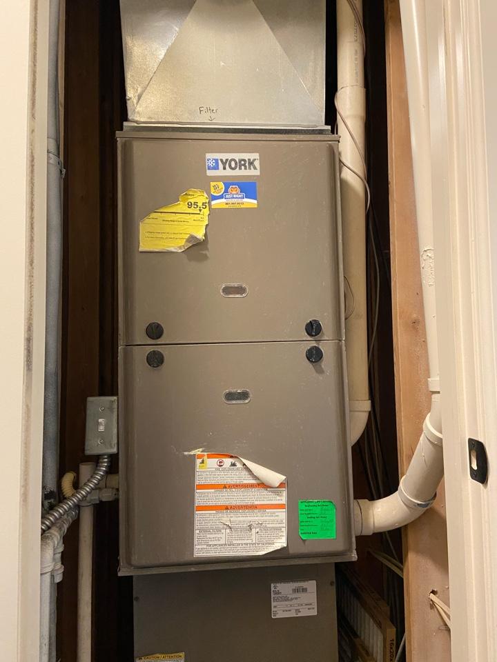 Herriman, UT - Repair broken York furnace with Nest thermostat