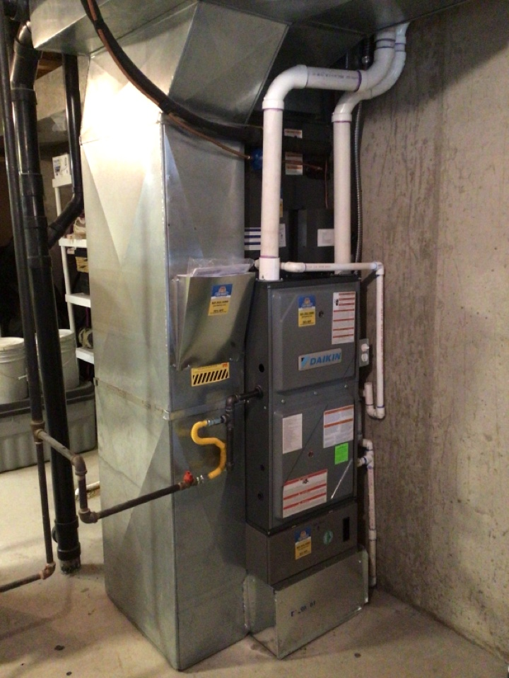 Millcreek, UT - Install new Dm96 furnace. New ac and coil