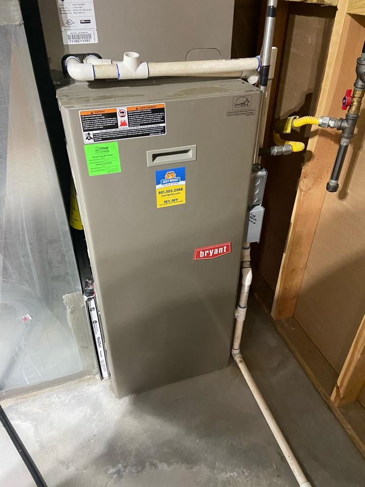 South Jordan, UT - Repair broken Bryant furnace.