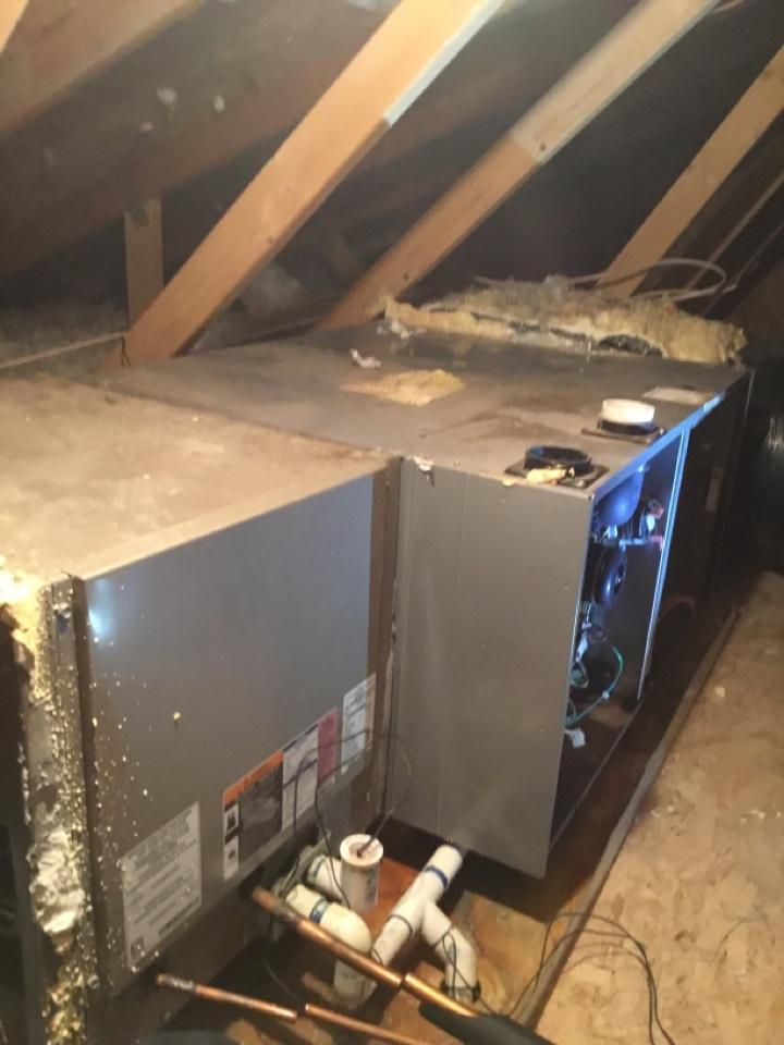 North Salt Lake, UT - Remove old furnace