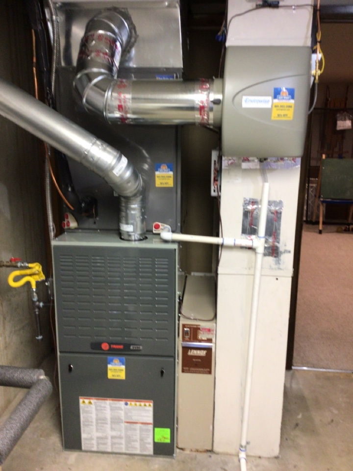 Holladay, UT - Install New 80% trane two stage furnace.