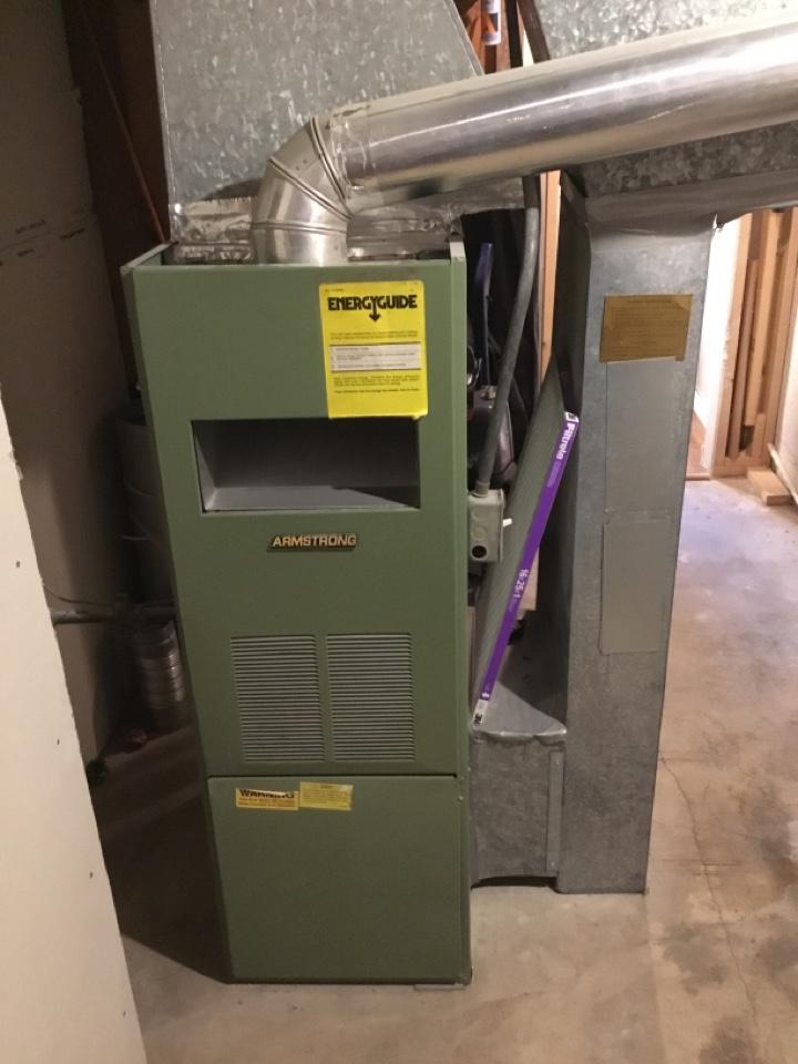 Farmington, UT - Removing old furnace