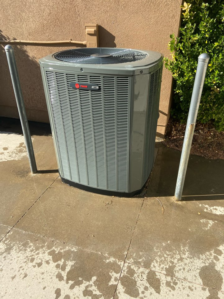 Sandy, UT - Tune up a Trane AC with a Honeywell thermostat