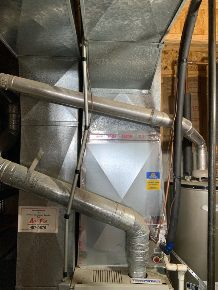 Salt Lake City, UT - Giving an estimate to install a/c. Their current Lennox furnace is 27 years old. While we can add a/c to the system they are considering replacing the furnace at the same time as it opens them up to more efficiency options and not playing equipment leap frog.
