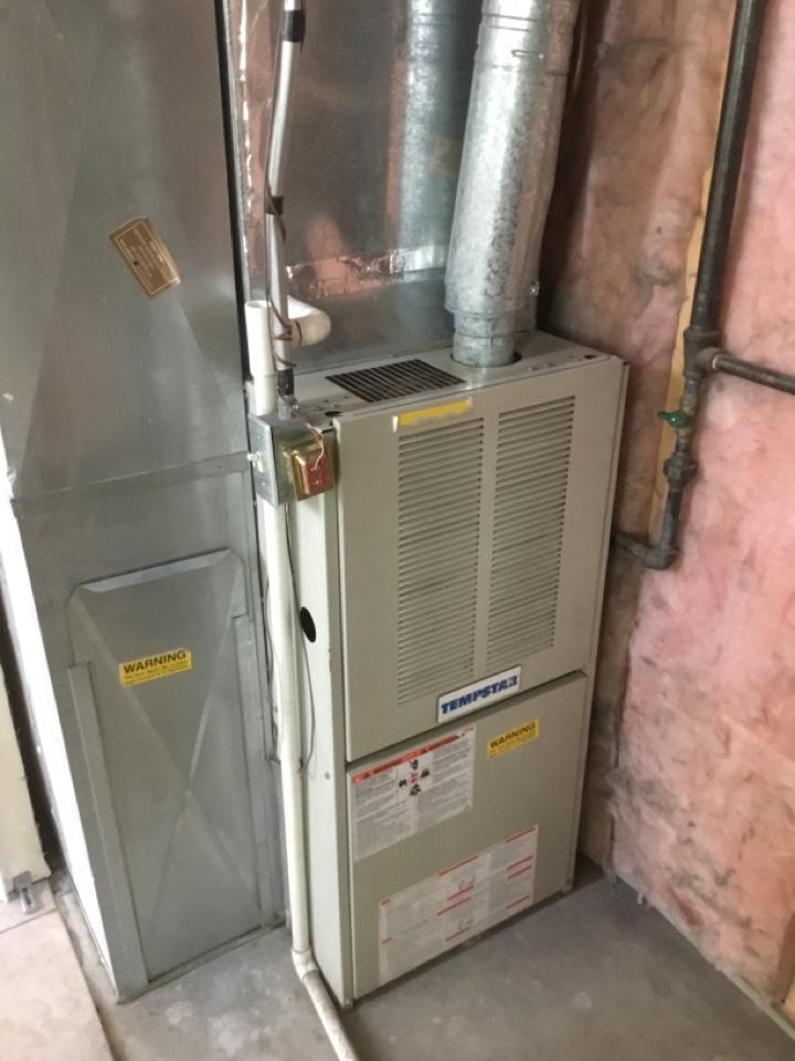 West Jordan, UT - Tearing out old furnace