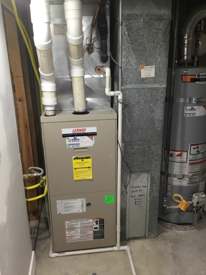 Cottonwood Heights, UT - Removing old furnace