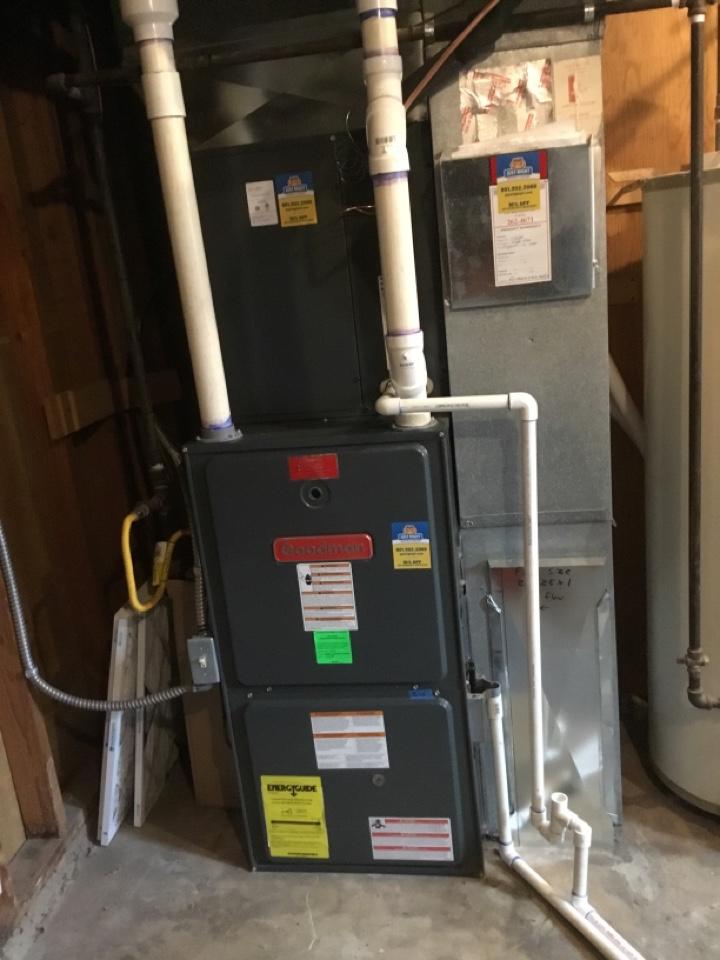 Cottonwood Heights, UT - New coil installed plus new filter door