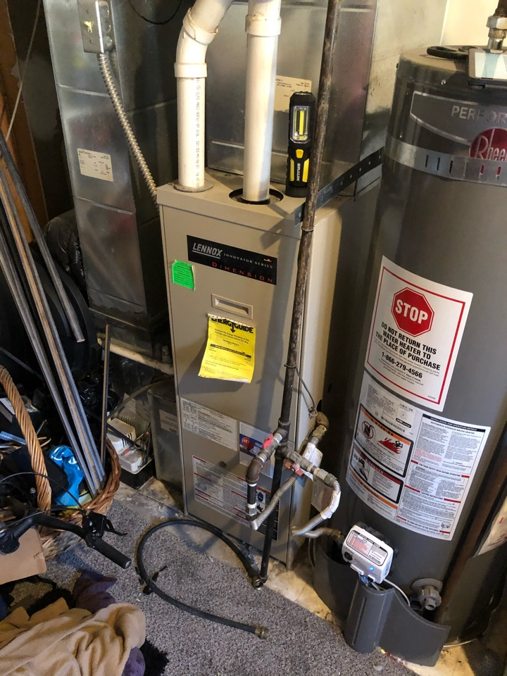 West Jordan, UT - Installing new high-efficiency furnace and air conditioner