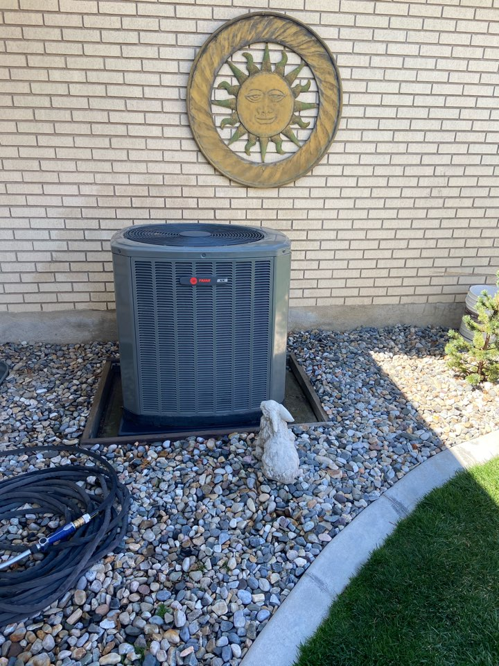 Cottonwood Heights, UT - Tune up a Trane ac with a Nexia thermostat.