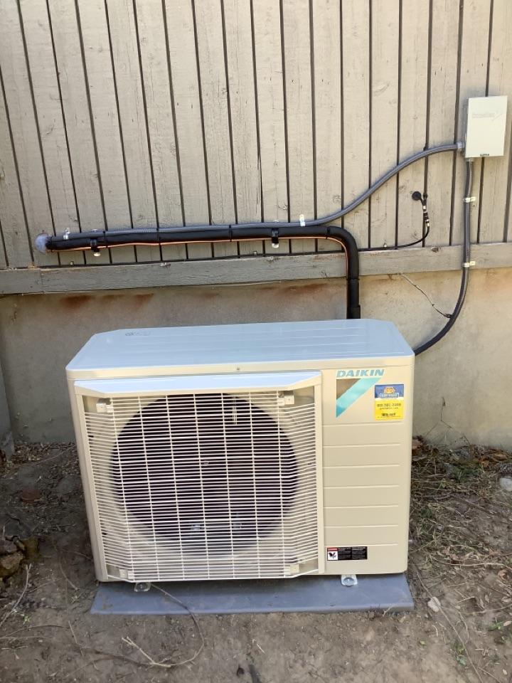 Sandy, UT - Install new daikin heat pump