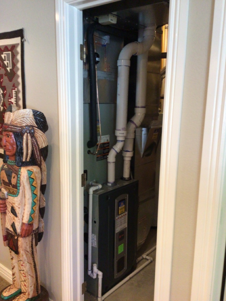 Herriman, UT - Install new 90% train furnace with new air conditioning coil and zone board