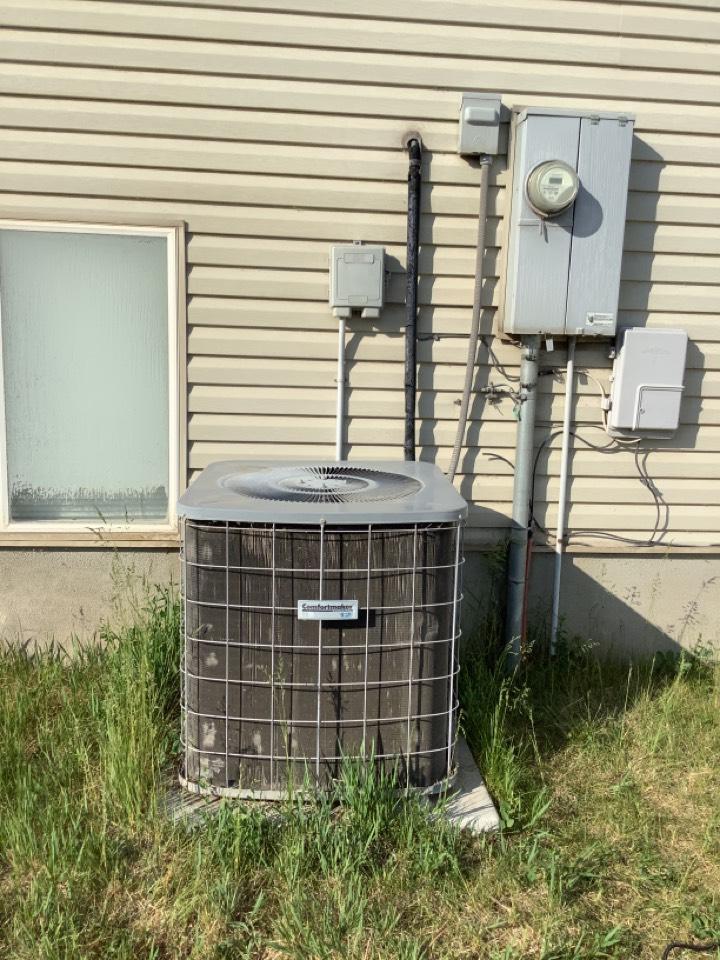 Roy, UT - Removing comfortmaker air conditioner