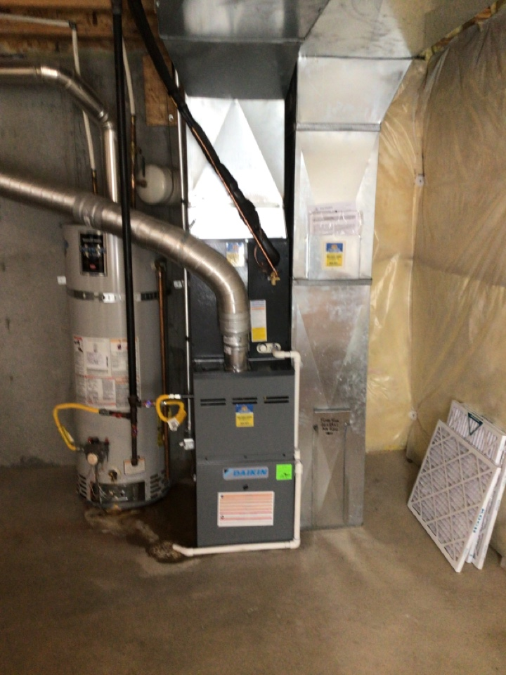 Magna, UT - Install new dike and 80% two-stage furnace with AC
