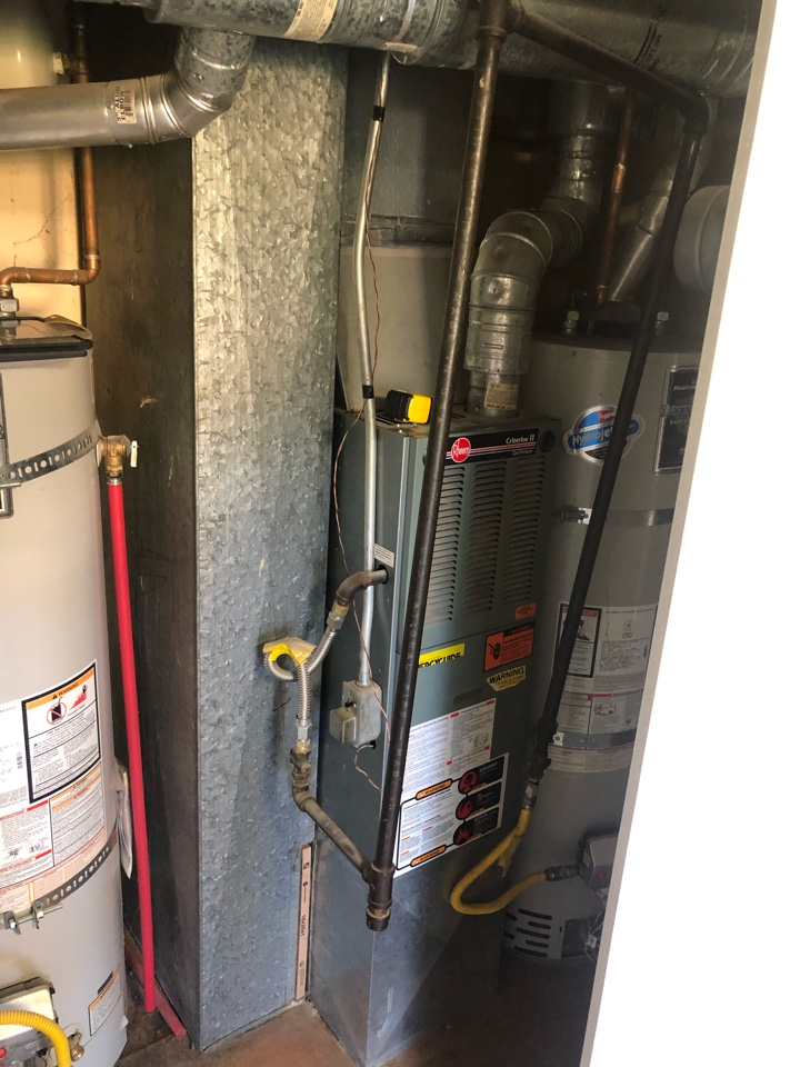 Ogden, UT - Replacing two old furnaces with new high-efficiency equipment