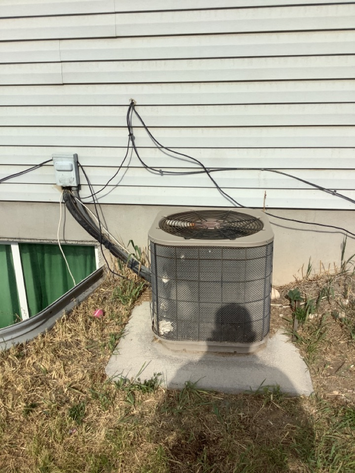Magna, UT - Removed existing central air system