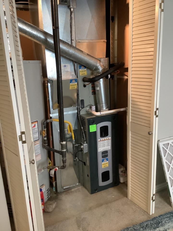 Magna, UT - Installed a Trane 80% efficiency furnace system