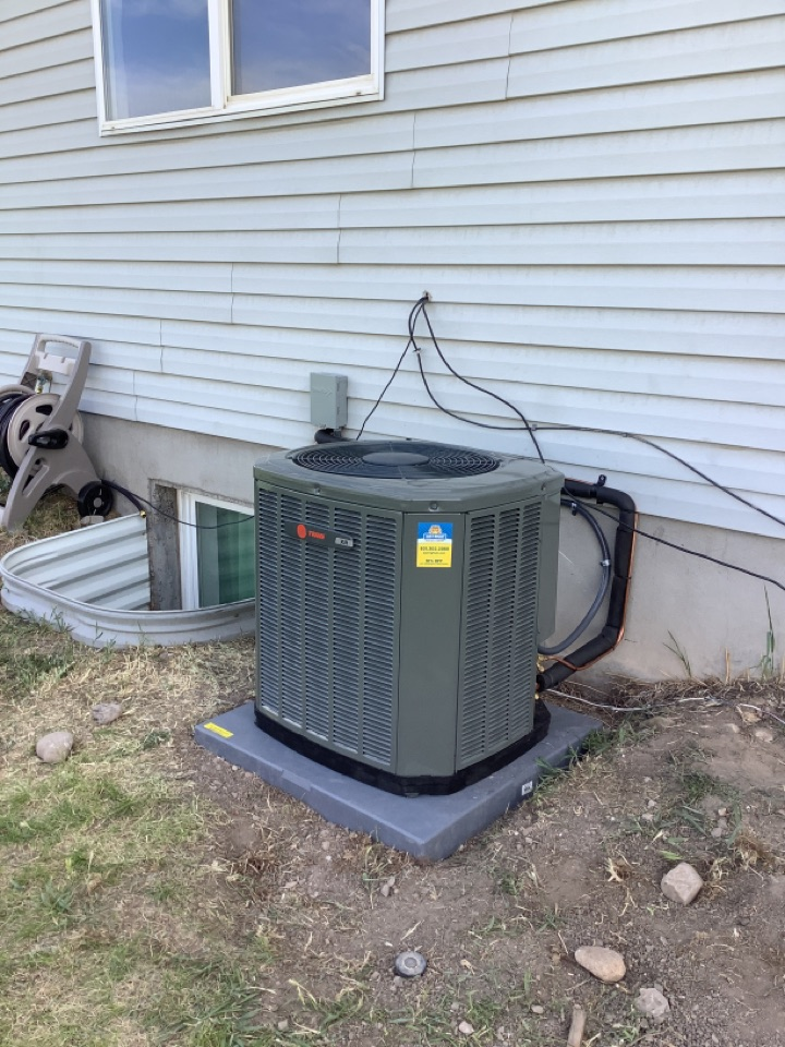 Magna, UT - Installed a Trane central air conditioning system