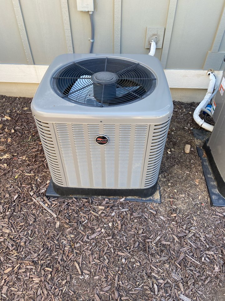 Cottonwood Heights, UT - Tune up a Ruud ac with a Nest thermostat.