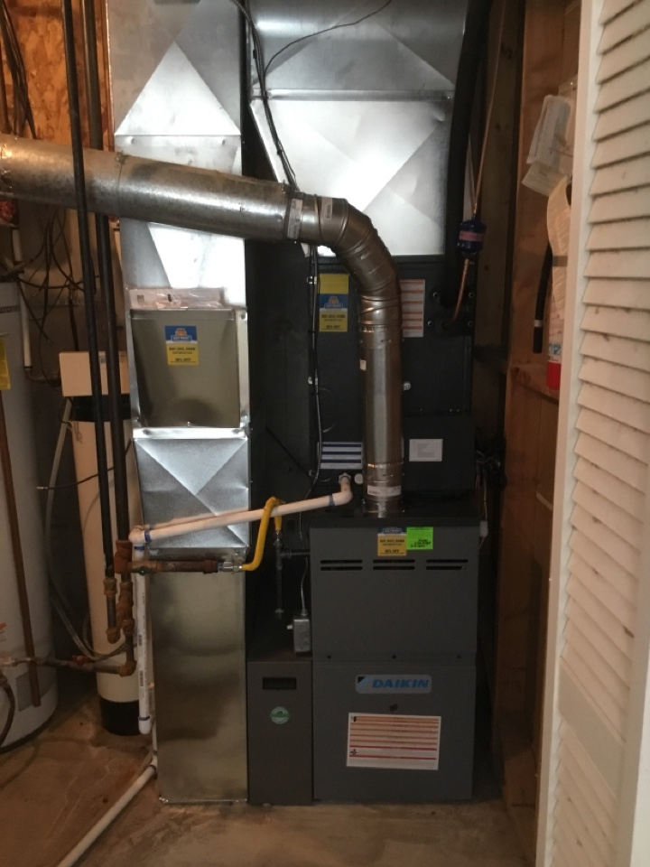Draper, UT - Installed new daikan furnace and air conditioner