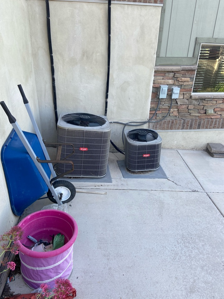 West Jordan, UT - Repair broken Bryant ac with a Ecobee thermostat