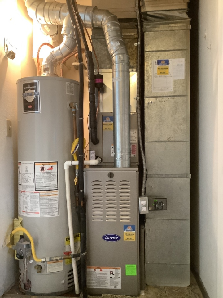 Midvale, UT - Install new carrier ac, coil and furnace.