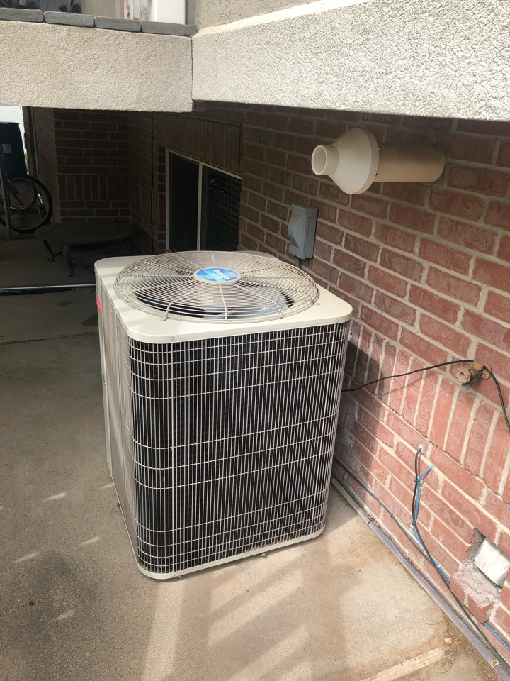 Layton, UT - Replacing an oversized air conditioner with a new high-efficiency air conditioner