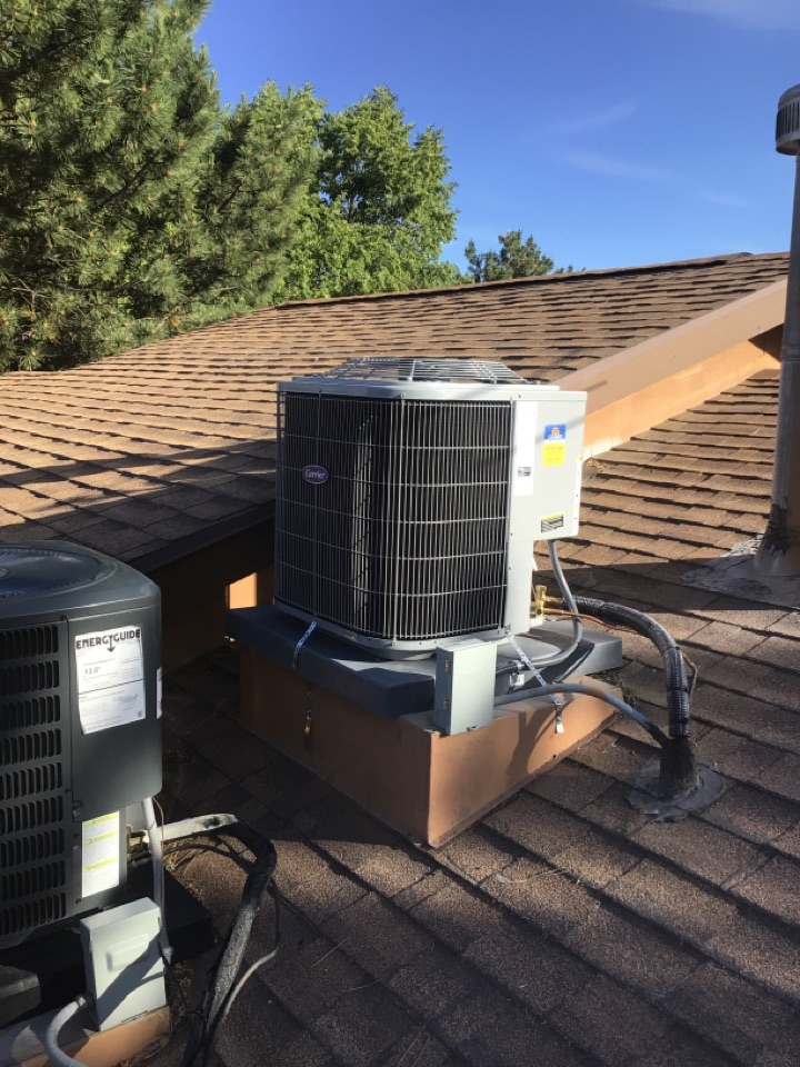 Midvale, UT - Installed two new carrier air conditioners with two new furnaces