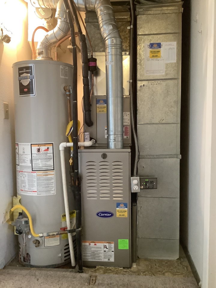 Midvale, UT - Install new carrier heating and ac system