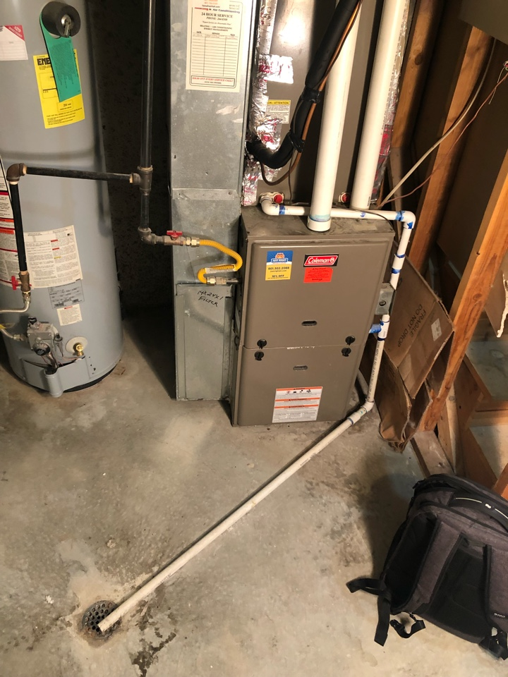 West Valley City, UT - Giving an estimate to replace the furnace and a/c. The system is 10 years old but they have had nothing but problems for the last 5 years and just want a system that will work and perform. The existing system is oversized and was installed poorly from the beginning.