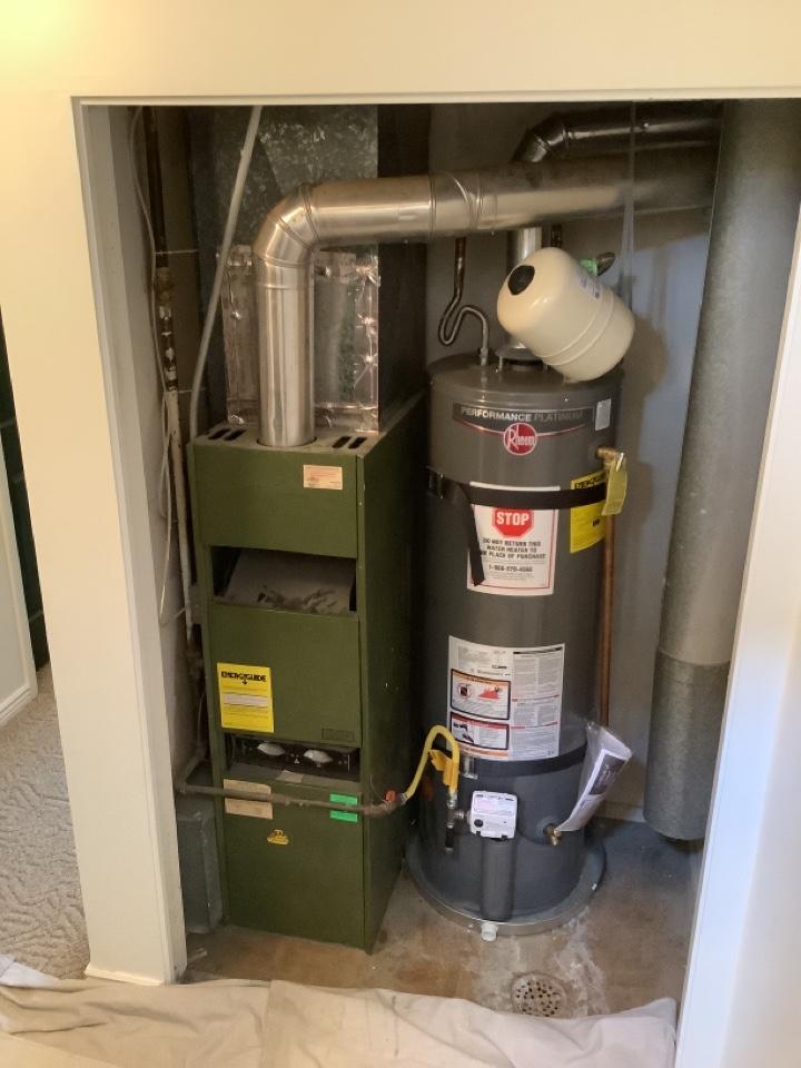 West Jordan, UT - Removed existing furnace system