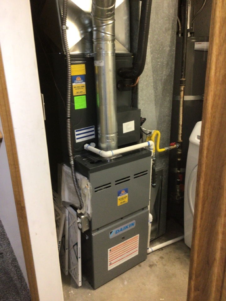 Magna, UT - Install new daikon furnace and air conditioner