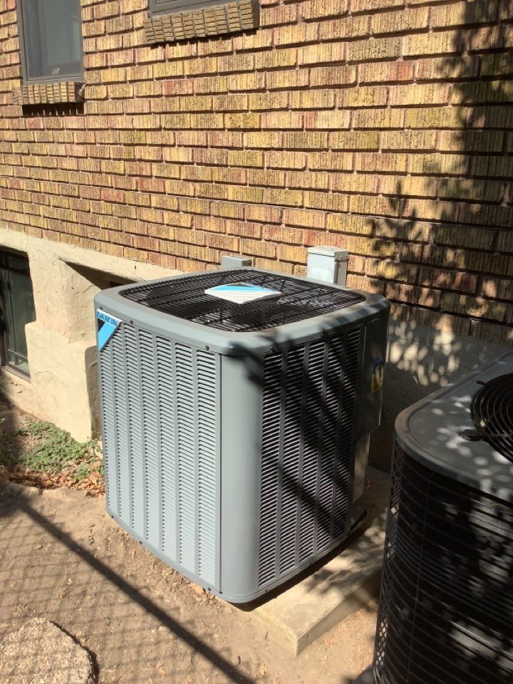 Salt Lake City, UT - Installed a daikin central air conditioning system
