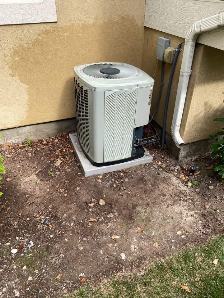 West Valley City, UT - Tune up a Trane Ac with an Ecobee thermostat