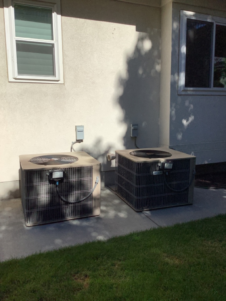 Millcreek, UT - Removed existing central air conditioning systems