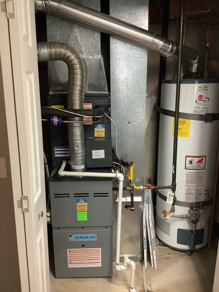 Roy, UT - Install new daikin furnace coil and air conditioner