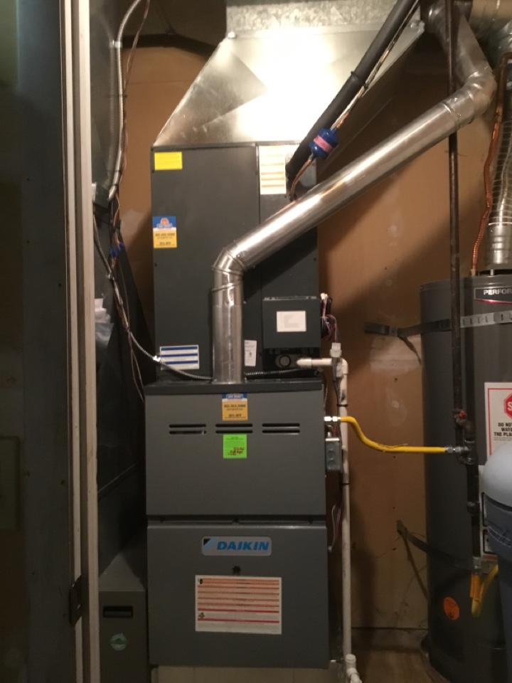 Cottonwood Heights, UT - Installed new furnace and air conditioner
