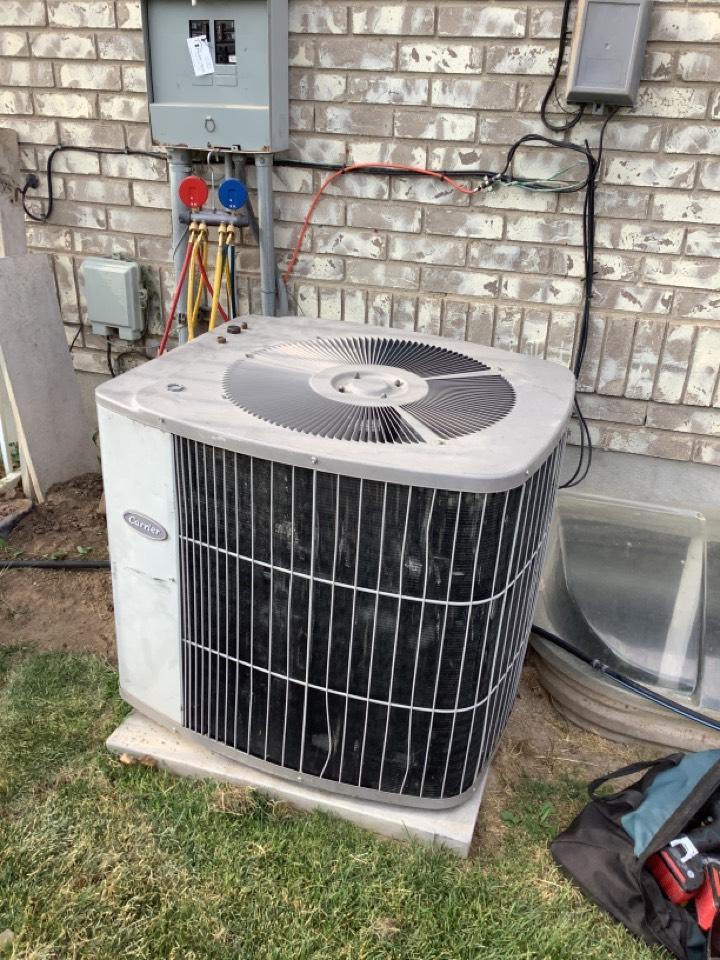 Riverton, UT - Removing old AC