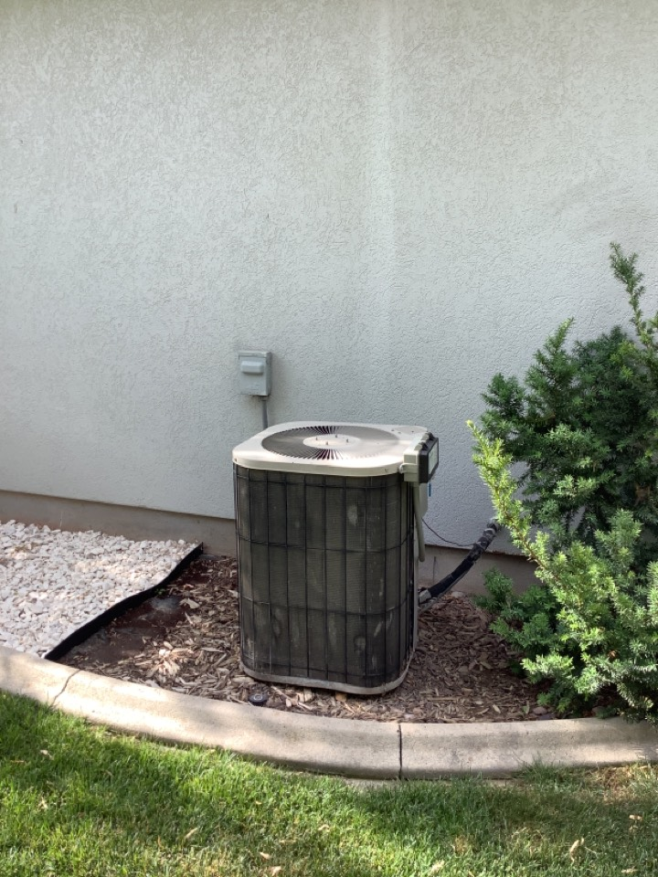 South Jordan, UT - Removed existing central air conditioning system
