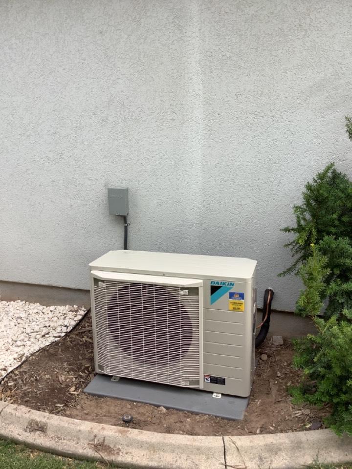 South Jordan, UT - Installed a  daikin central air fit system