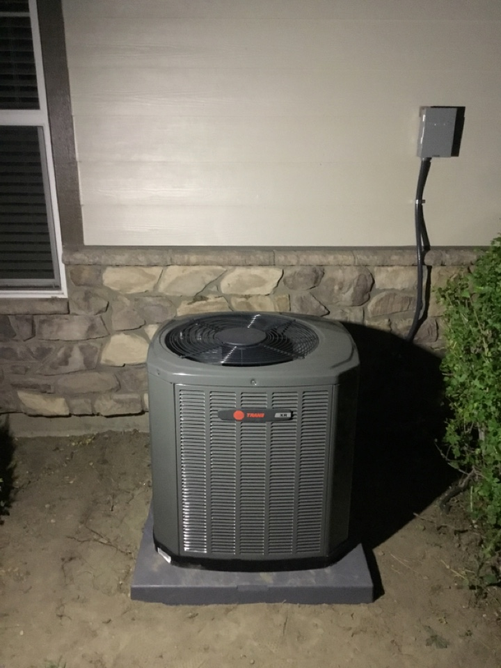 Sandy, UT - Install new trane high efficiency central air conditioning